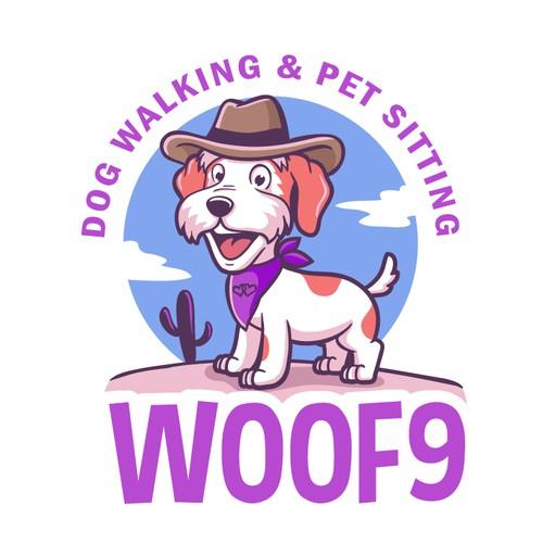 WOOF9 logo