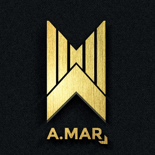 Make a creative DJ/Producer logo for A.Mar