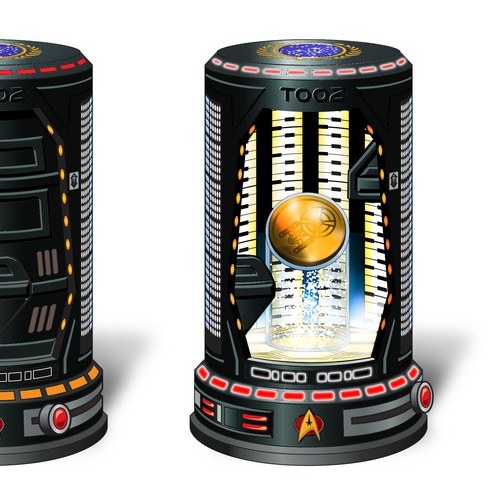 Create a Star Trek Transporter Chamber Collectable Box