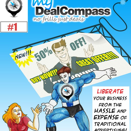 Create the next design for myDealCompass