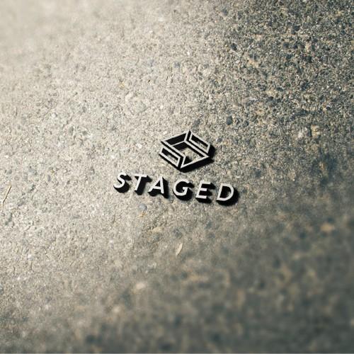 Staged Logo Design