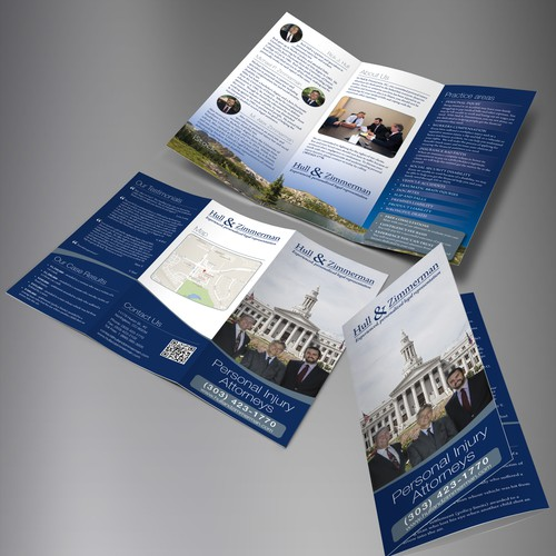 Hull & Zimmerman trifold brochure