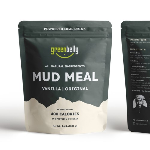 Design Packaging for Hiking Food Company