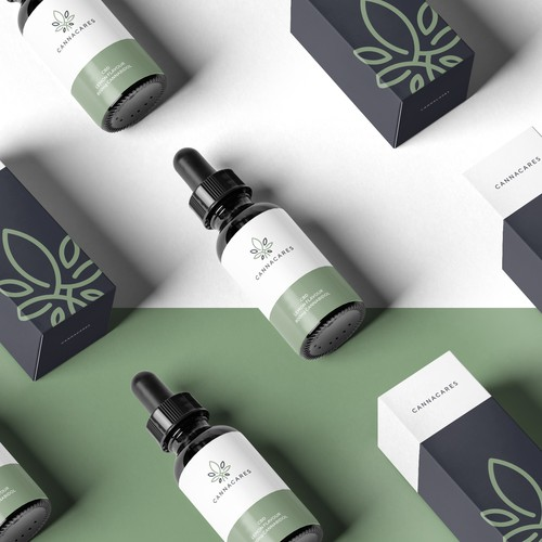 Hemp Oil Label and Packaging Design