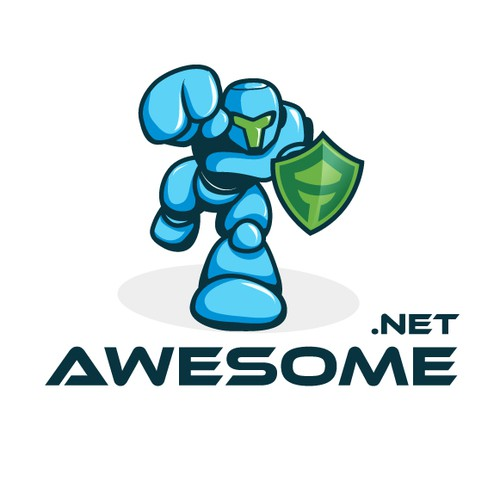 Design a Mascot Logo for Awesome.net