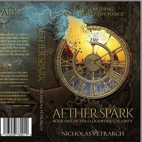 Aether Spark Book Cover