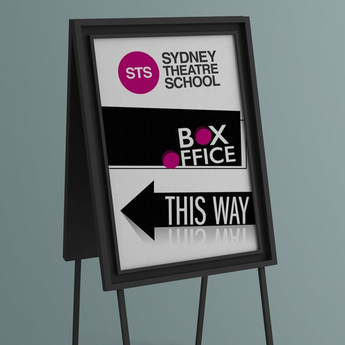 STS Box Office Sign