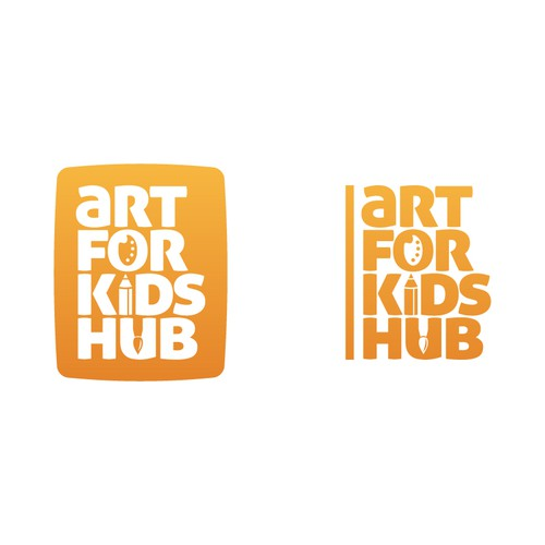 """Logo for """"Art for Kids Hub"""""""