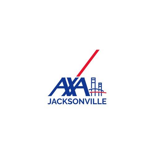 AXA Jacksonville logo