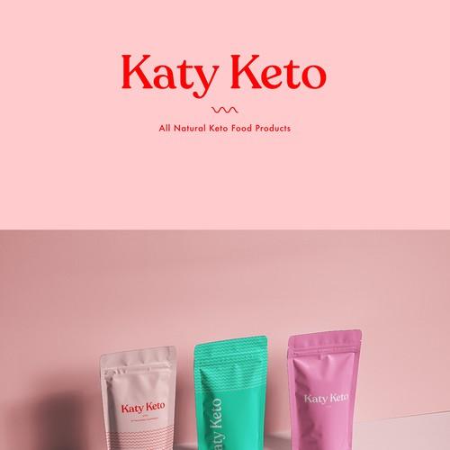 Katy Keto brand identity