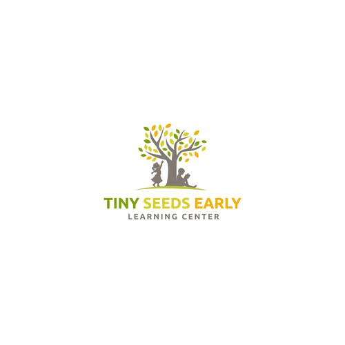 logo concept of tiny seeds