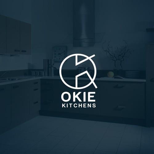 Logo design concept for okai kitchen