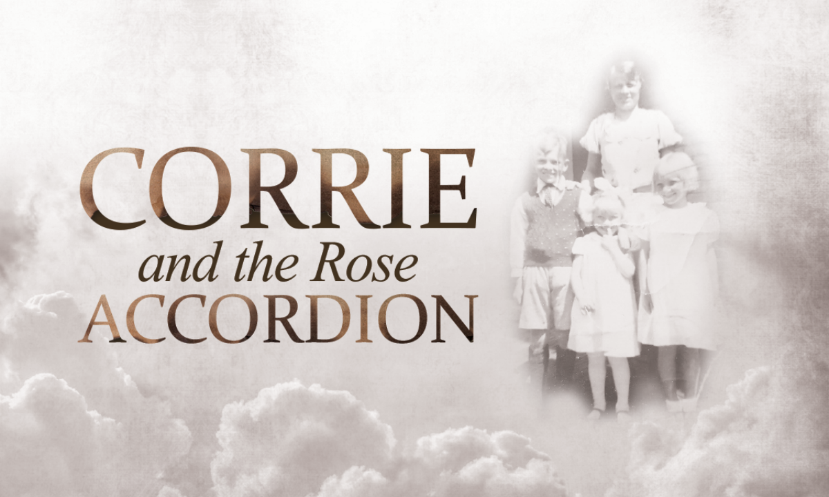 Corrie and the Rose Accordion Business Card