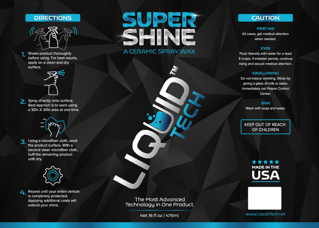 """Labels for a chemical company creating """"high tech"""" automotive detailing products"""