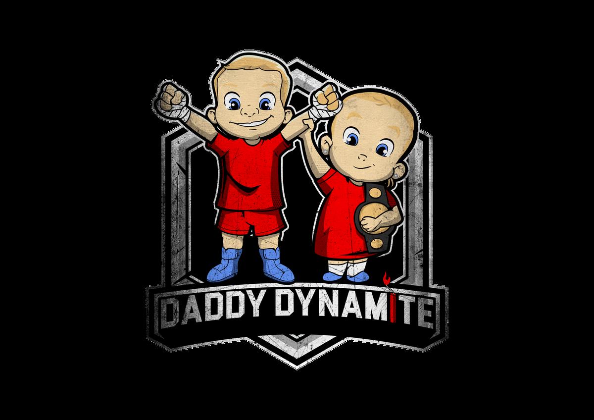 Daddy dynamite MMA logo