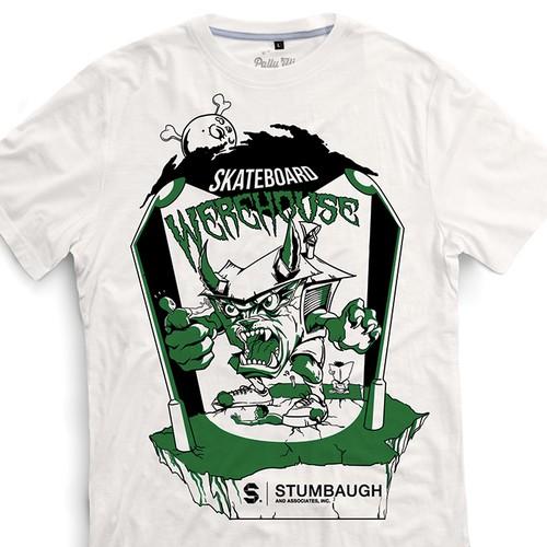 T-shirt Illustration design