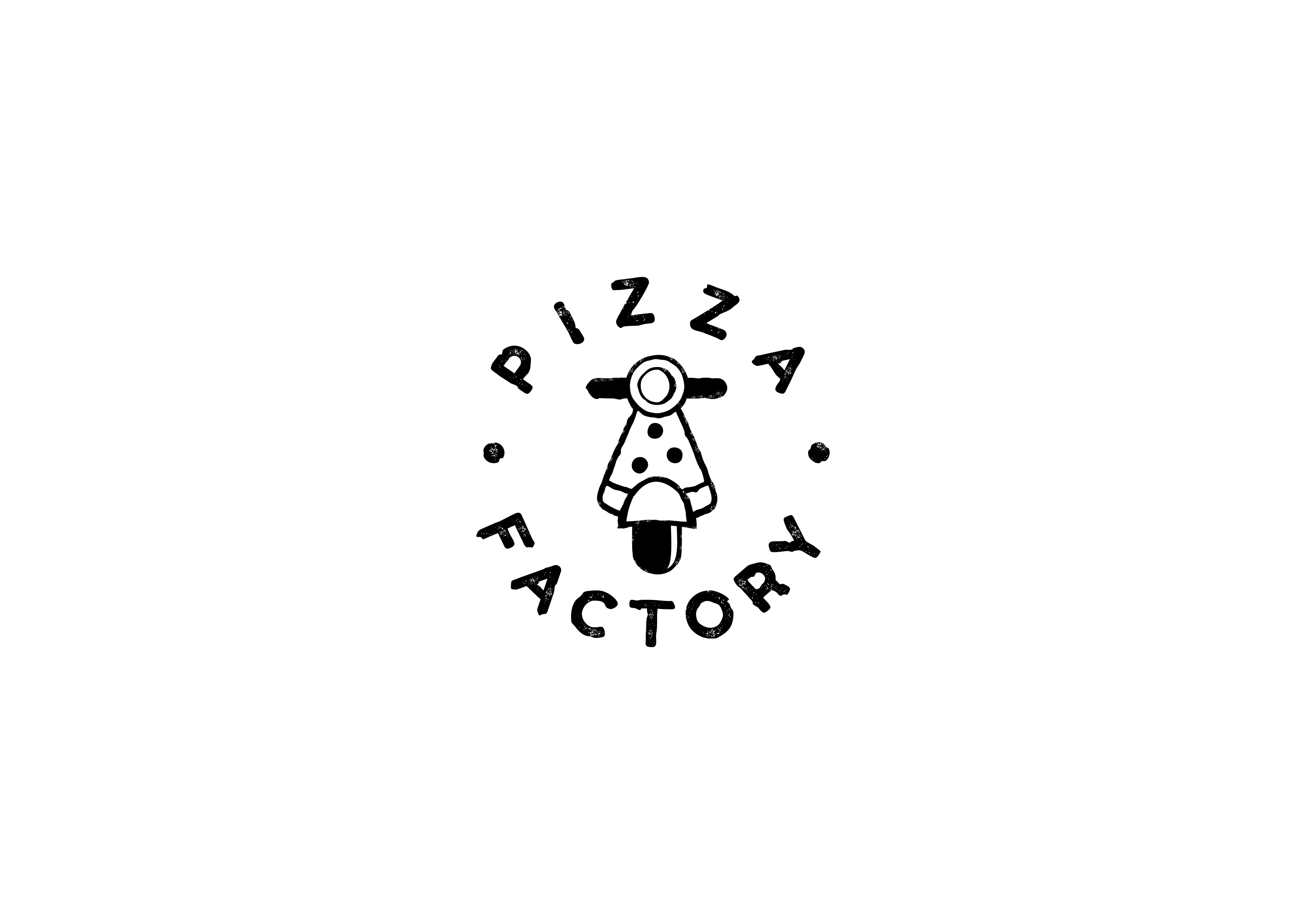 Create a logo for Pizza Factory!