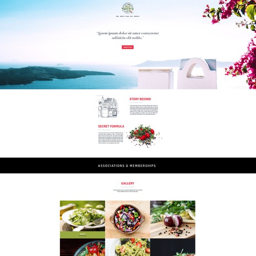 Wordpress Theme for Miss Suzie's Salad Dressing
