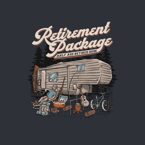 Retirement Package concept for clothing brand