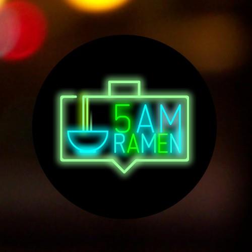 Logotype for a ramen restaurant