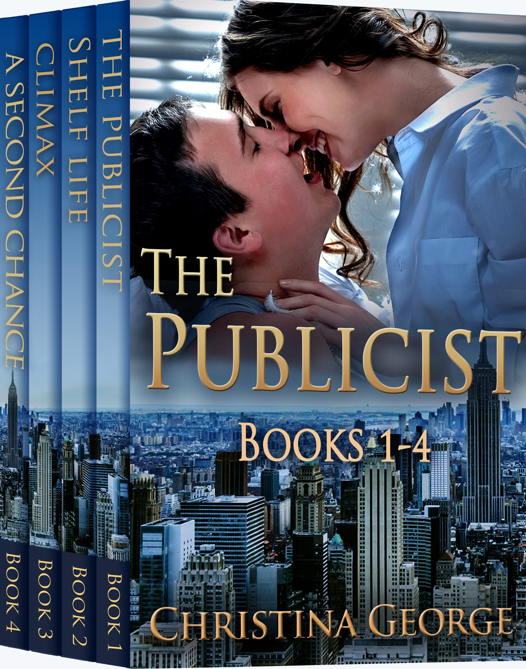 Bundle cover for The Publicist series