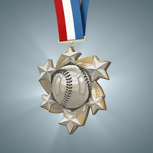 Baseball - Youth Award Medal
