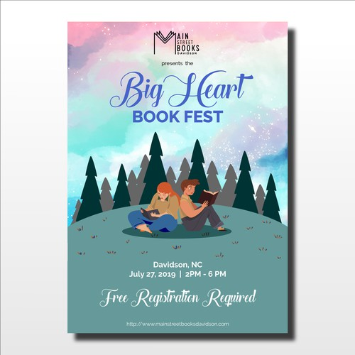 Poster for Youth Book Festival