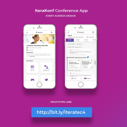 Conference App Redesigned for Iteratec