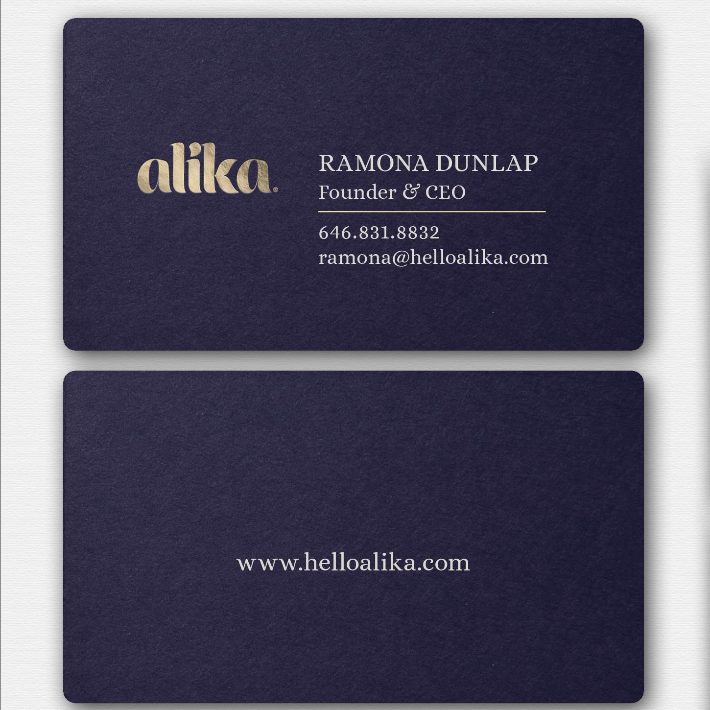 Alika Business Card