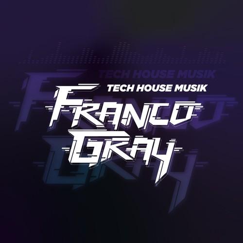 Logo concept DJ
