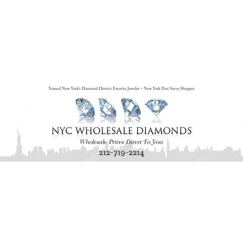 Luxury Jewelry Banner for Website and Ads