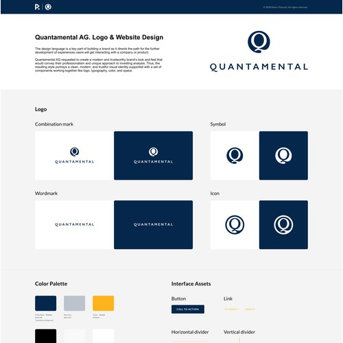 Quantamental Logo & Website Design