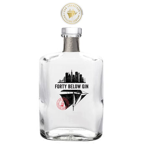 Forty Below Gin
