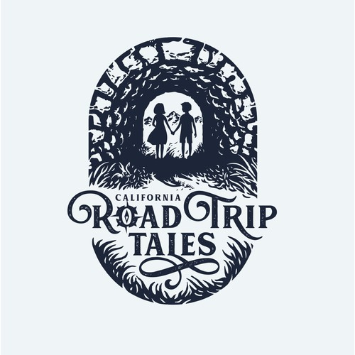 "logo for ""Road Trip Tales"""