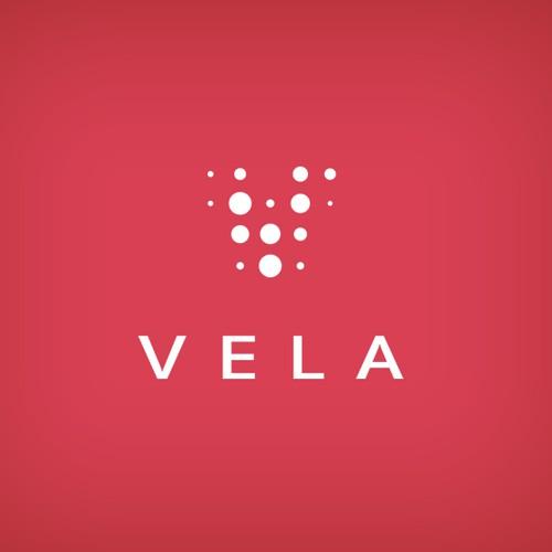 Logo design for Vela, photo equipment maker.