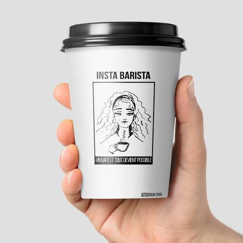 Un café et tout devant possible