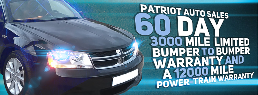 Promoting our new auto warranty program