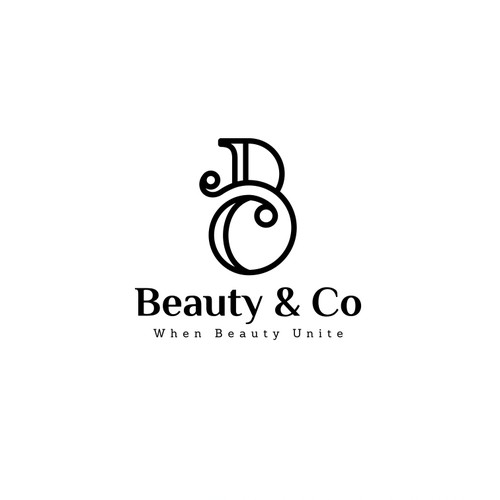 Monogram logo concept for Beauty Treatment
