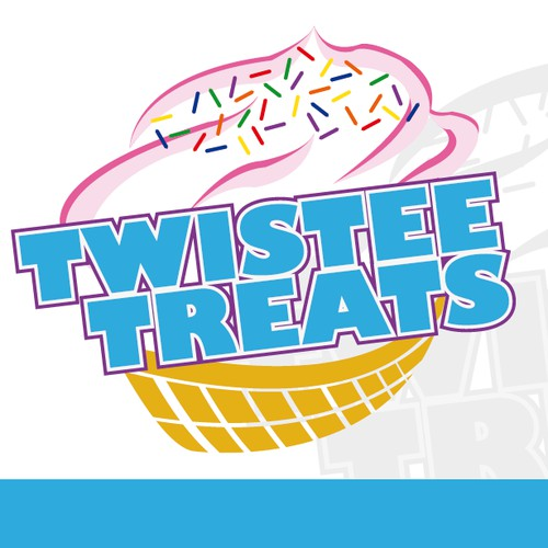 New logo for ice cream