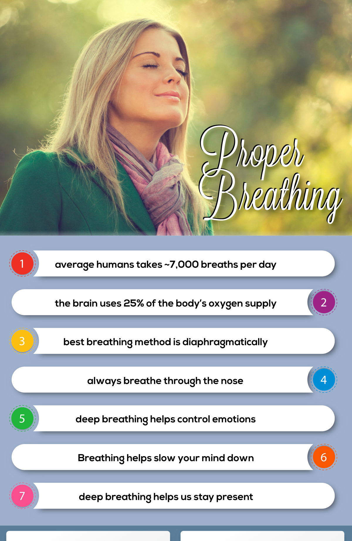 Breathing graphic