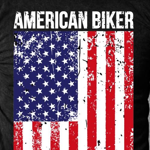 Design For An American Biker