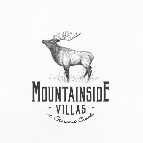 Beautiful Elk design for Real Estate Company