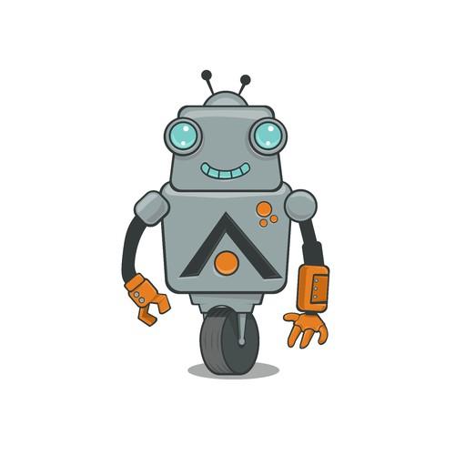 Robot illustration for ASIMOV