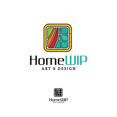 HomeWip Logo Concept