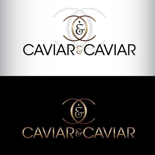 """Caviar & Caviar"" logo"