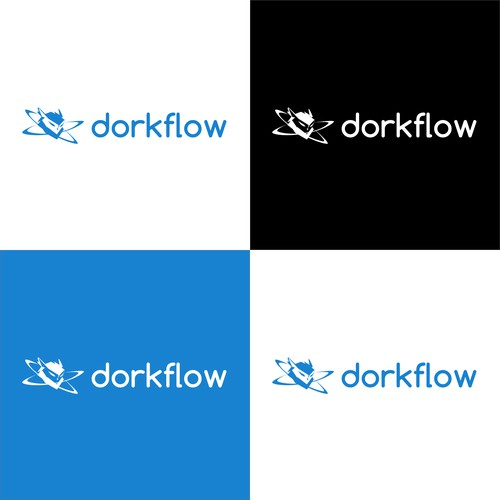 Logo for a workflow improvement blog for coders.