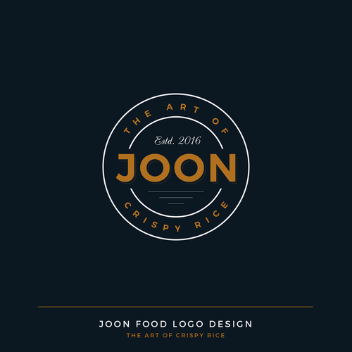 Joon Food Logo Design