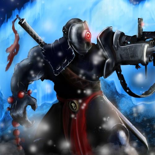 Villain character illustration