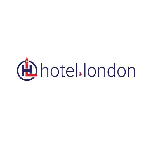 Logo design for hotel.london