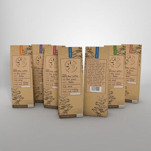 Natural handmade looking packaging